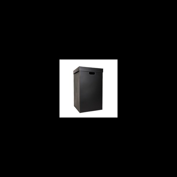 BIG LAUNDRY BOX BLACK41 x 41 x 72 cm