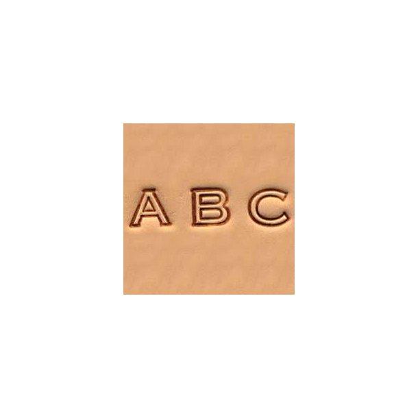 Leather Art Alphabet Set - 0.7 cm (1/4