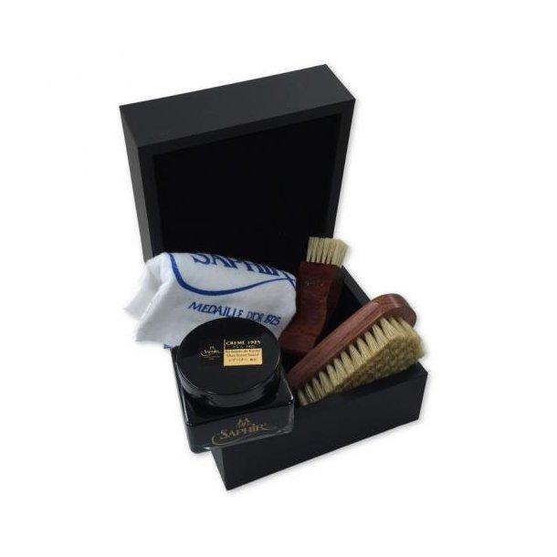 Gaveæske med skopleje & værktøj - Saphir Medaille D´or