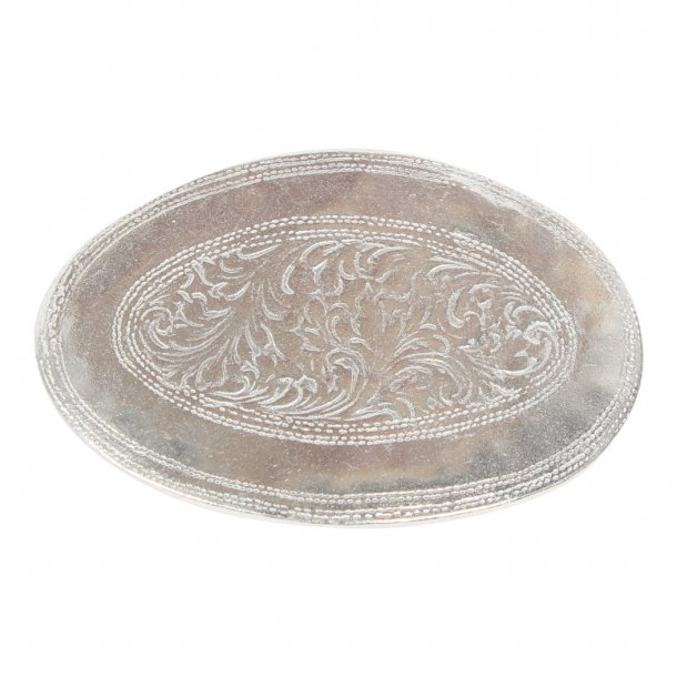 Belt buckle 25mm floral