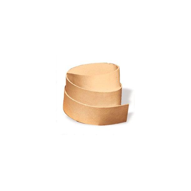 Tilskåret Læderremme ca. 1,8-2,2mm tyk