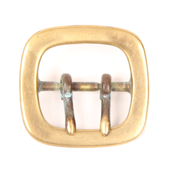 Antique brass buckle centerbar 35mm - Ananda