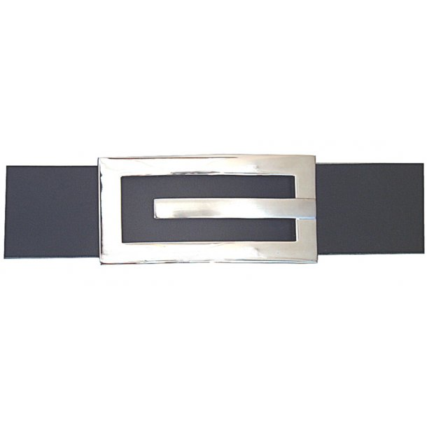 Belt buckle with clip on 30mm