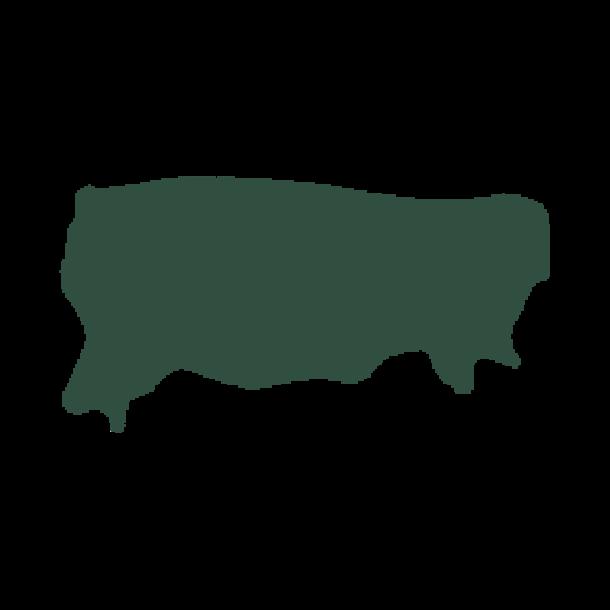 Kalvenappa grøn ca. 28-30 kv fod 0,5-0,6mm