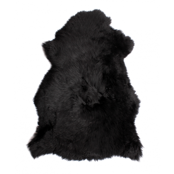 Lambskin rug from New Zealand from 90cm Black 90cm