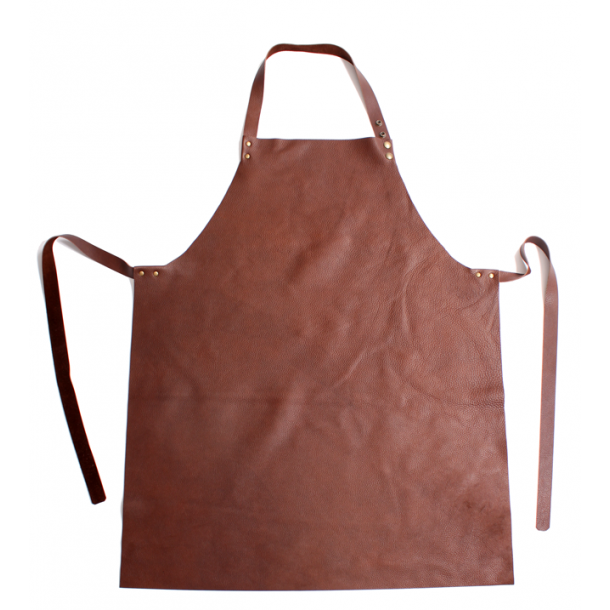 Apron in leather - Handmade by Leather House