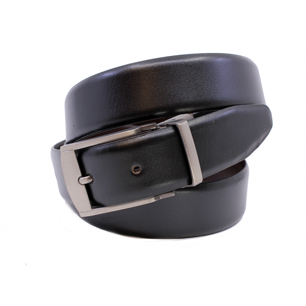 Leather strap reversible 35mm