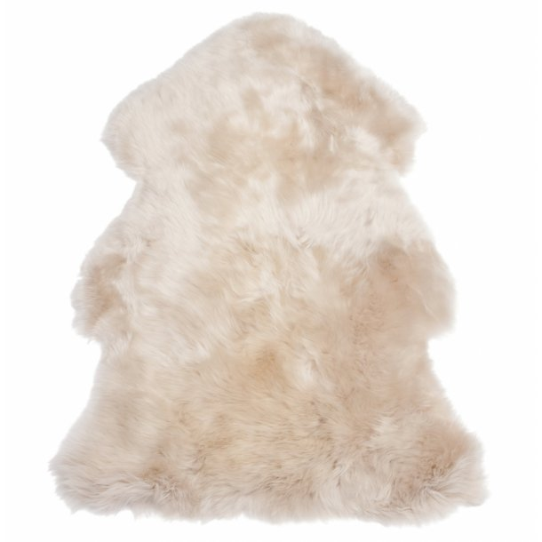 Lambskin rug from New Zealand from 75-100cm  Flax colored 100cm