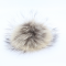 Pompon i Finn Racoon ca. 12 cm, med trykknap