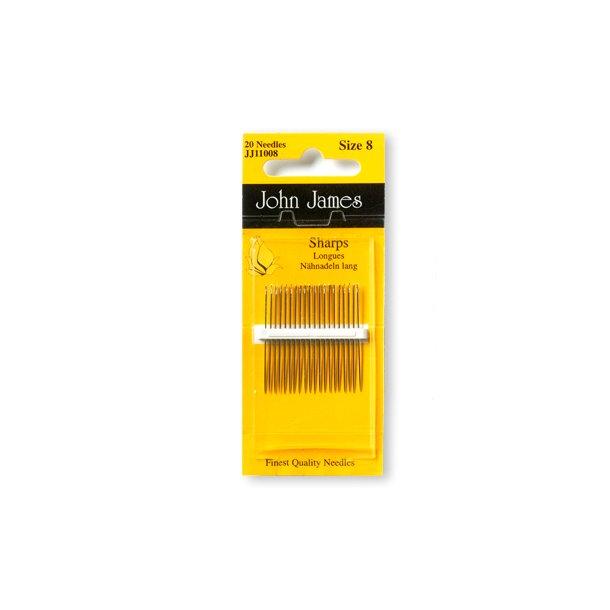 John James needles - 5 types
