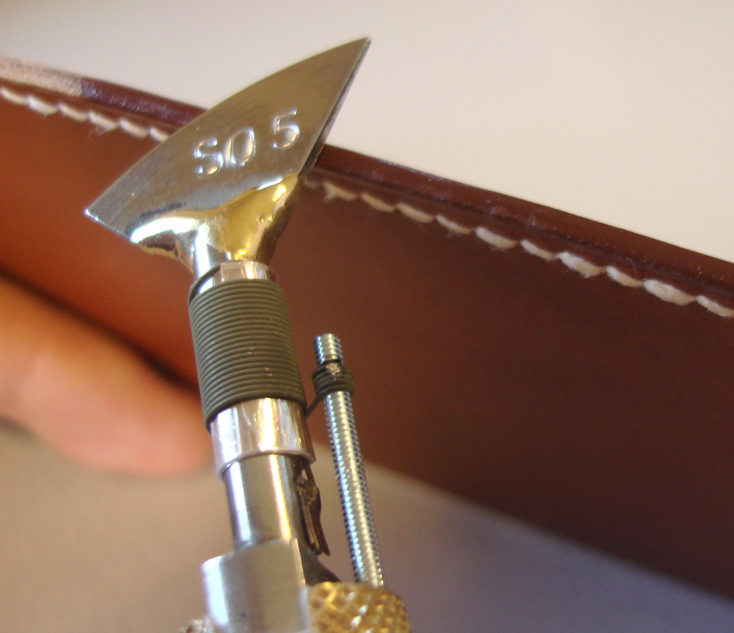 Plane Creasing Tips For Electric Leather Edging Creaser
