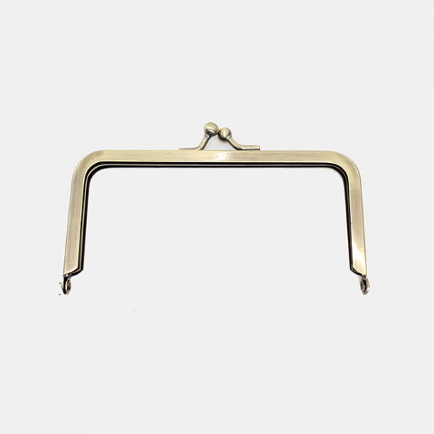 Bag frame / Purse Clasp old brass - 1006